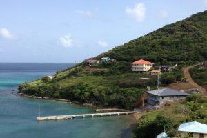 מתקן משמר החופים: מבנה ראשי ופיר ימי - סנט וינסנט